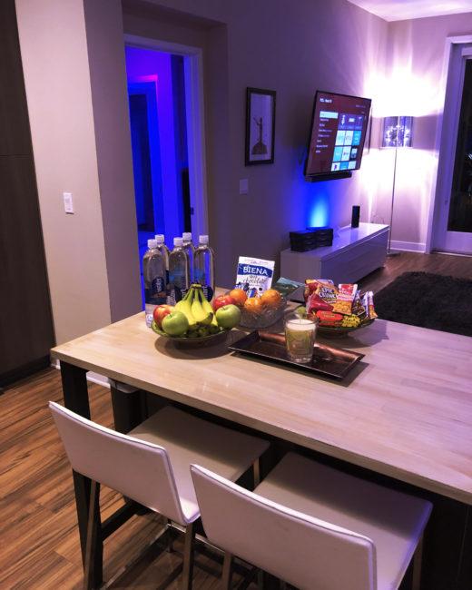 Loud Color LA Kitchen & Client Waiting Area